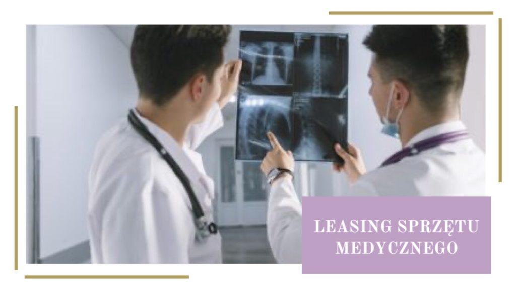 leasing sprzetu medycznego